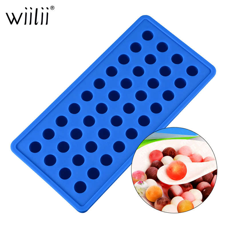 160 Grids Silicone Mould Ice Cube Tray Cheese Fondant Candy Chocolate Molds