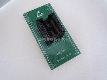 TSOP44 SSOP44 SDR SDRAM צריבה שקע זהב ציפוי מושב בדיקות IC מבחן Socket מבחן ספסל