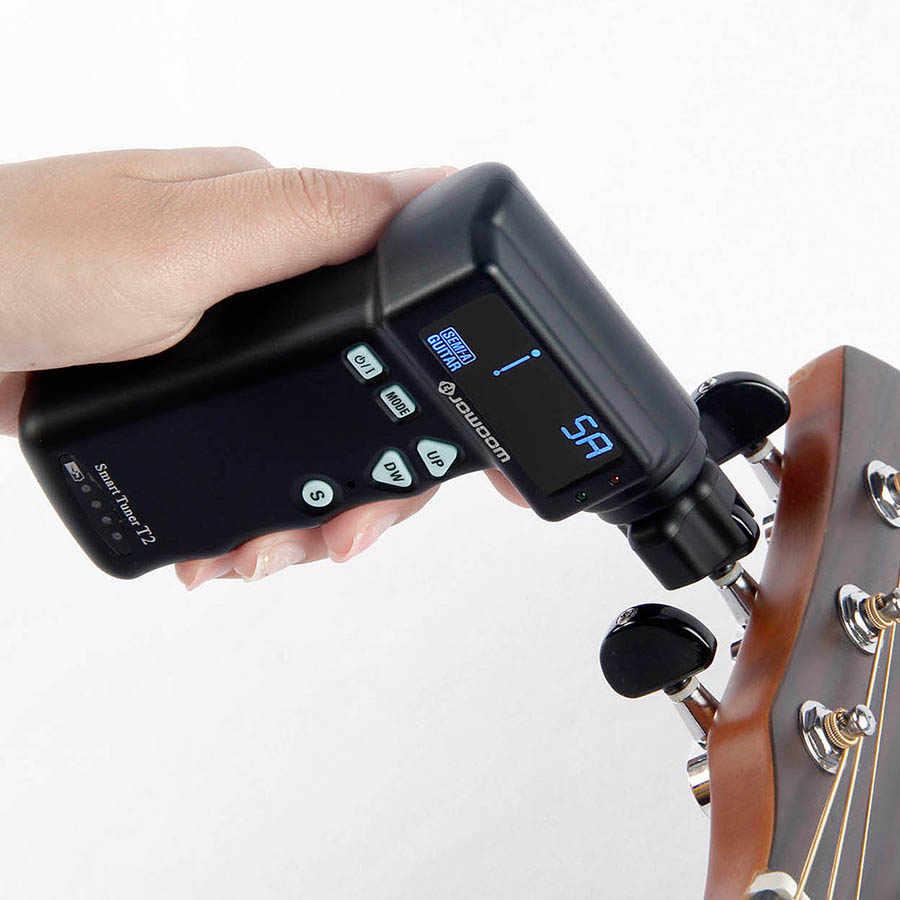 BATESMUSIC T2 смарт-тюнер автоматический для гитары настройки строки тюнер smart устройство для намотки струн акустической Электрогитары автоматический инструмент