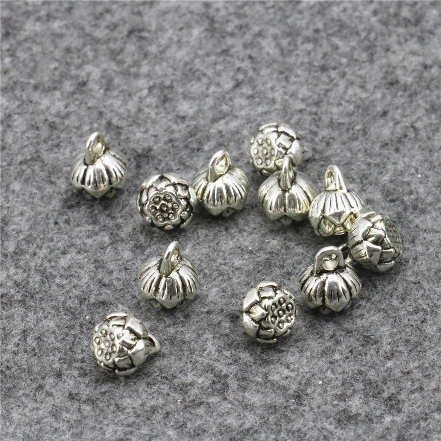 comb Silver Alloy Pendants,Jewelry Finding making Diy Accessories,10pcs