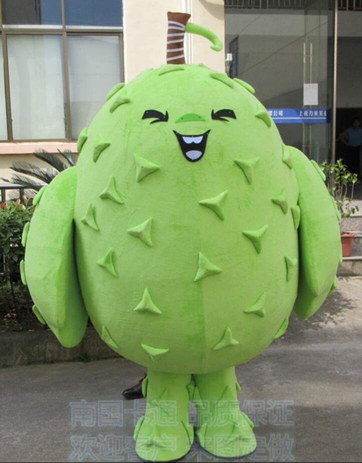 Durian Fruit Mascot Costume Suits Cosplay Party Game Outfits Clothing Advertising Carnival Halloween Xmas Easter Festival Adult