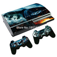 OSTSTICKER Joker Skin cover for ps3 Fat vinyl sticker for PlayStation 3 Fat console and 2 pcs controller decal