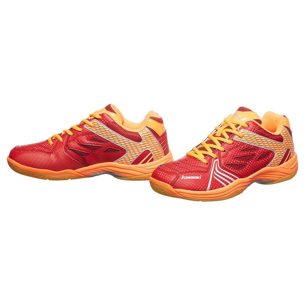 Kawasaki Sneakers chaussures de Badminton professionnelles en caoutchouc résistant à l'usure chaussure de sport de cour intérieure antidérapante pour hommes femmes K-071 - 3