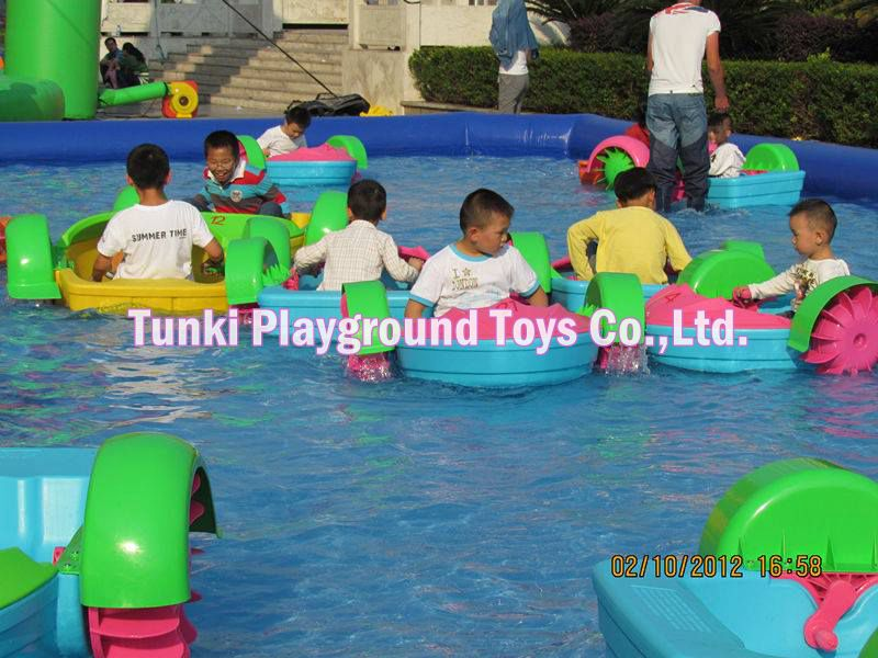 strong water hand boat for inflatable pool
