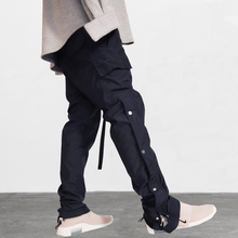 high street 2019 Drawstring Pocket Cargo Joggers Harem Pants Men Hip Hop Casual Baggy Streetwear Male Fashion Trousers