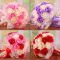2017 Hot Sale Free Shipping 4 Types Wedding Bouquet 28 Handmade PE Roses Bouquets De Noiva Wedding Flowers Bridal Bouquets