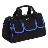 Tool Bag Multi function Large Canvas Shoulder Electrician Bags Hardware Repair Kit Manual Electrician Tool Kit Bags