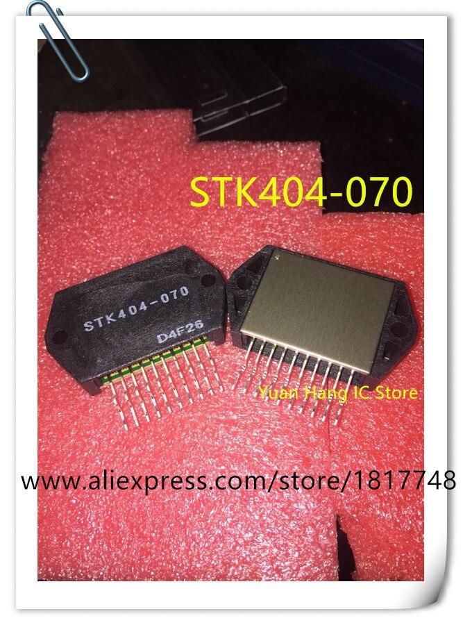 2 pcs/lot STK404-070 STK404 070 STK404 IC HYBRIDE MOD AUD PWR AMP AB 1CH HYB-10