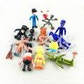 NUEVA caliente 10-11.5 cm 12 unids/set Cinco Noches en Oso de Freddy y Fox & Duck & Conejo juguetes figura de acción de colección de regalo de Navidad muñeca