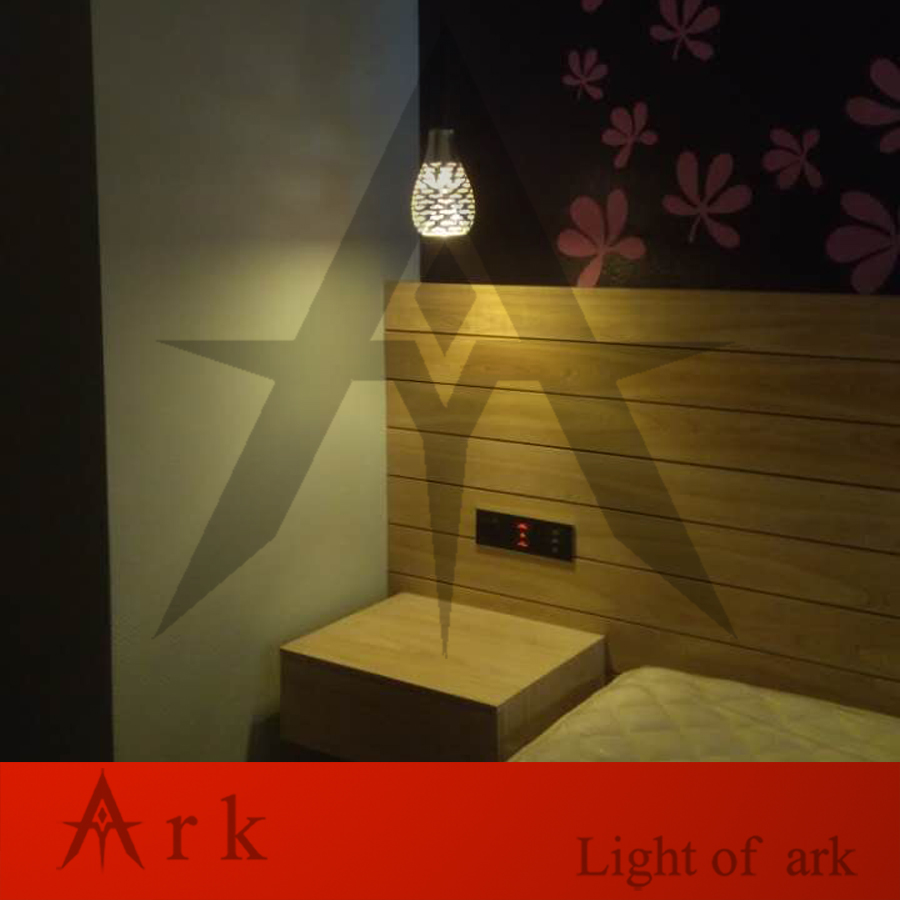 ARK LIGHT NEW DESIGN VISA shape 3D Mirror Light LED Pendant Lamp magic fantasy 3d fireworks Glass Ball Lighting 2014 high quality new inventions crystal magic mirror lightbox led