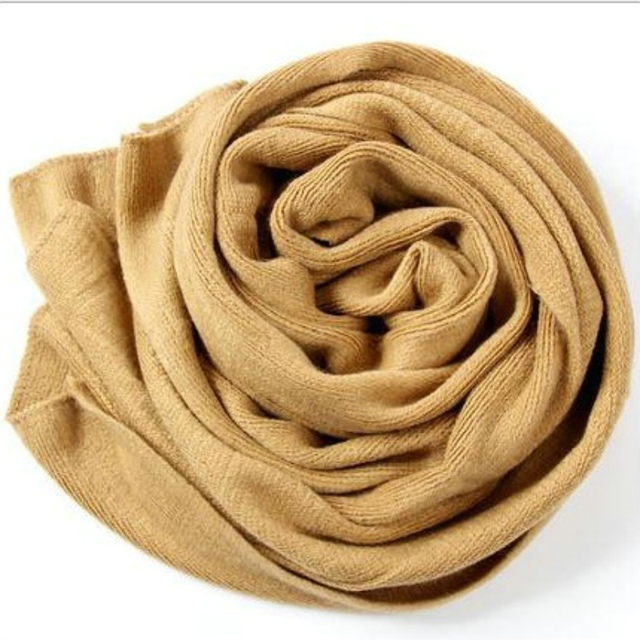 Korean Simple Solid Color Warm Winter #Scarf #Women Elastic Knitted Wool Ring Scarves #fashion #boygrl 6