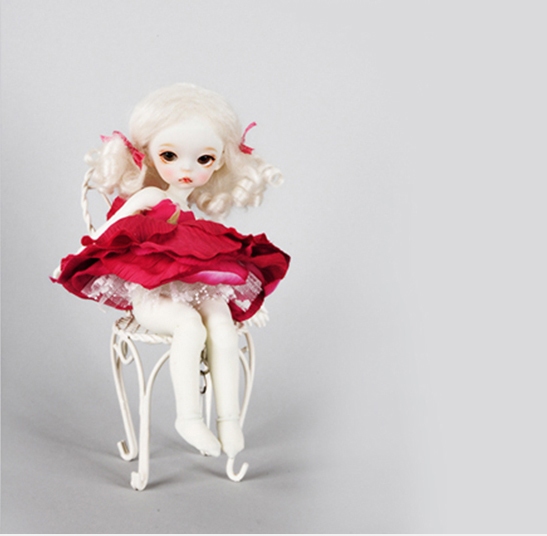 AQK <font><b>Bjd</b></font>/ doll <font><b>1/8</b></font> cute baby girl 1.7 Louie <font><b>bjd</b></font> girl doll image