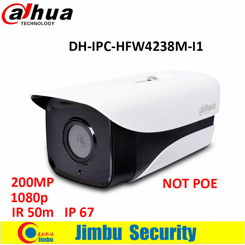 ФОТО original Dahua 2MP IP camera IR50m 1080P bullet sstellar camera H.265 waterproof IP67 cctv camera DH-IPC-HFW4238M-I1