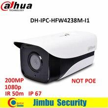 Оригинал Dahua 2-МЕГАПИКСЕЛЬНАЯ ip-камеры IR50m 1080 P пуля sstellar камера H.265 водонепроницаемый IP67 камеры видеонаблюдения DH-IPC-HFW4238M-I1