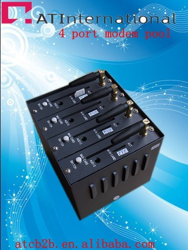 bulk send sms mms modem pool 4 port