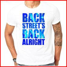 1990s Vintage Backstreet Boys Band T-Shirt Big Graphic Boy Tee Shirt 90s S-6XL Short Sleeves Cotton Fashion