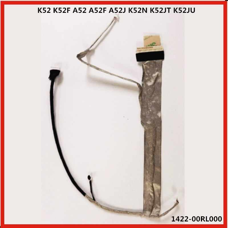 Wyświetlacz LCD laptopa kabel LED kabel ekranu Flex Cable wideo kabel do Asusa K52 K52F A52 A52F A52J K52N K52JT K52JU 1422-00RL0001