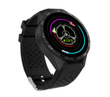 Watch KingWear KW88 3G WiFi Smart Watch SIM Card Bluetooth 4.0 MTK6580 Heart Rate GPS Google Play 2.0MP Camera smartwatch phone