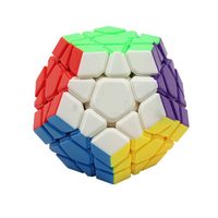 Classic Puzzle Magic Cube Megaminx Fidget Toy 12 Sided Cube Neokub Mini Color Neo Cubo Magico