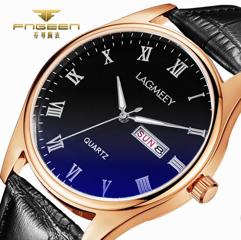 2017 Top Brand Luxury Mens Watches Business Wrist Watch Automatic Calendar / Week Leather Hodinky Male Clock Relogio Masculino new listing mens watches top brand luxury business montre leather band analog wrist watch relogio masculino de luxo male clock