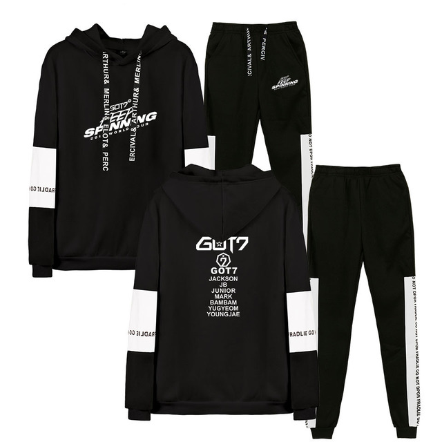 GOT7 2019 WORLD TOUR HOODIE + TROUSERS (20 VARIAN)