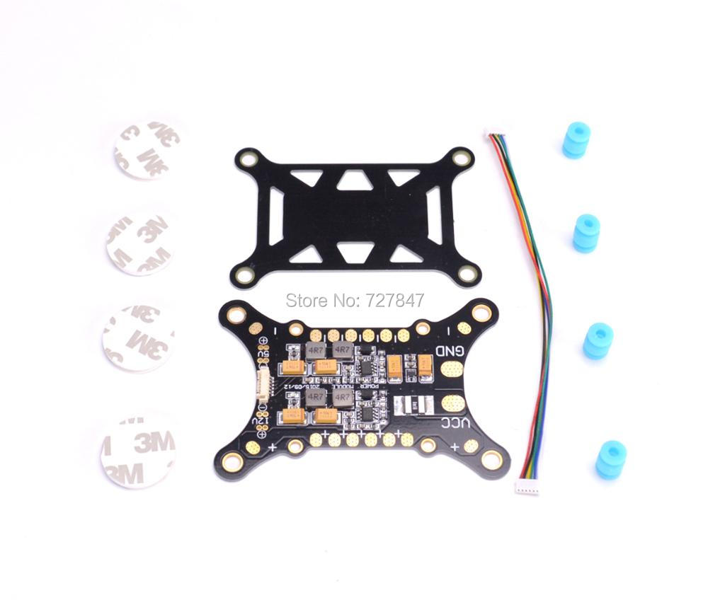 APM / PIXHAWK / PX4 5 in 1 PDB Super Shock Absorber Integrated Power Module ESC Power Distribution Board 5V & 12V BEC