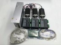 Nema23 Stepper Motor 3Axis Set L76mm 1.8Nm Stepper Motor + DC24~50V Motor Driver + 5Axis Breakout Board + USB&Parallel Cable