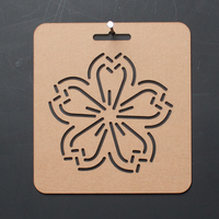 1pcs Simple Flower Pattern Acrylic Template Patchwork Tools Quilting For Patchwork Painting DIY Sewing Craft Accessories