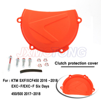 Motorcycle Clutch protection cover for KTM SXF/XCF450 2016 2017 2018 EXC F/EXC F Six Days 450/500 2017 2018