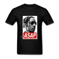 ASAP Rocky Hip Hop Druck männer T-shirt Hip Hop Skateboard weiß angst gottes skam Tops T Homme Mann T hemd