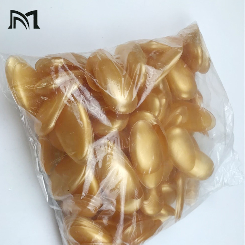 200Pcs  Salon Hair Dye Transparent Gold Silicone Ear Cover Shield Barber Shop Anti Staining Earmuffs Protect Ears From The Dye
