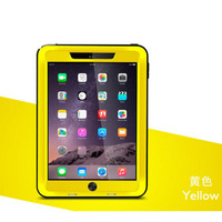 Hot Sale Powerful Life Waterproof Toughened Glass Shockproof Metal Aluminum Love Mei Case For IPAD Air2