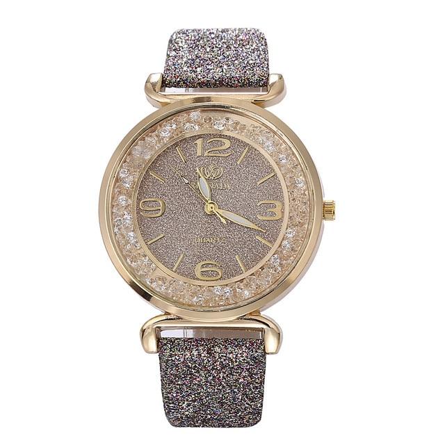 2018 Best Selling Watch Fashion Women Watches Luxury Crystal Rhinestone Stainless Steel Quartz WristWatches Dropshipping relogio 1