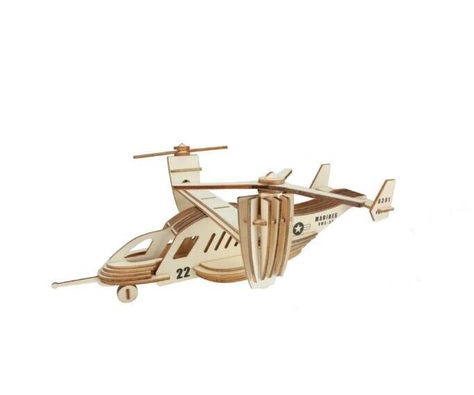 Моделирование Osprey конвейер Модель 3d трехмерные деревянные головоломки игрушки для детей Diy ручной работы деревянные пазлы