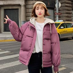 new Hooded Collar Female Coat Winter Womens Outwear Winter Jackets Autumn Cotton Padded Chaqueta Mujer Invierno 5