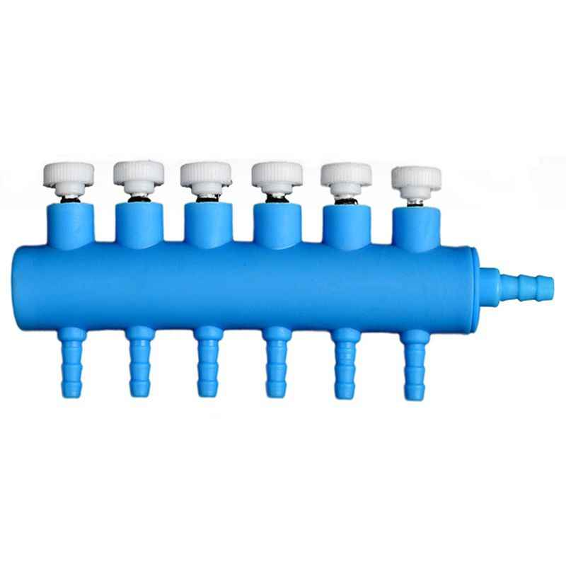4/6/8/10/12 Way Aquarium Air Flow Control Inflow Pipe Distributor Splitter Pump Fish Tank Accessories