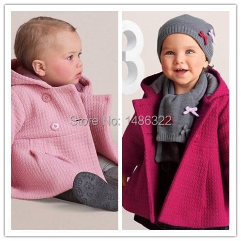 2015 Frühling Herbst Kleinkind Baby Mädchen Mantel Baumwolle Jacquard Futter Stepp Mit Kapuze Jacke Kinder Outwear HöChste Bequemlichkeit