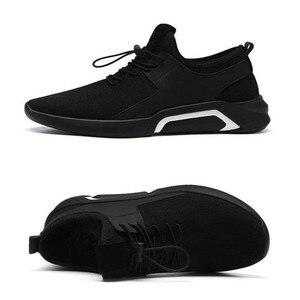 Image 5 - ファッションメンズカジュアルとビジネススニーカーすべりにくいスポーツ靴軽量快適な通気性ウォーキングスニーカー