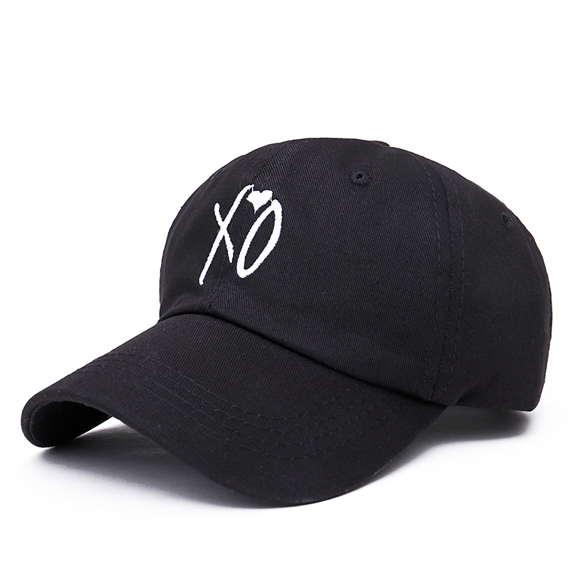 da9677c2d32 Fashion adjustable XO hat the Weeknd Snapback hats for men women brand hip  hop dad caps sun street skateboard casquette cap-in Baseball Caps from  Apparel ...