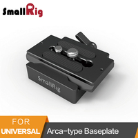 SmallRig Universal Quick Release Clamp and Plate ( Arca type Compatible) Baseplate For Mirroless And DSLR Cameras 2280