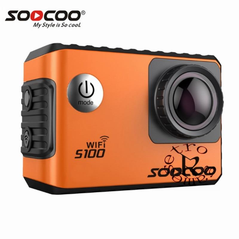 Wasserdichte Hdmi 20mp Ultra 2,0 Hochglanzpoliert Soocoo S100 4 Karat Wifi Action Sport Kamera Eingebaute Gyro Mit Gps Extension gps Modell Optional