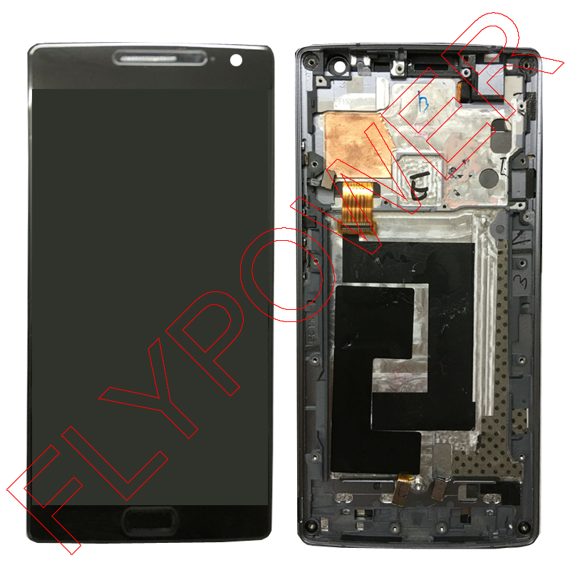 100% warranty for OPPO ONEPLUS 2 Two A2003 lcd display with touch screen digitizer with Frame assembly one plus by free shipping grade a replacement lcd glass screen ecran touch display digitizer assembly for oppo r9 plus 6 0 inch white with free tool kit