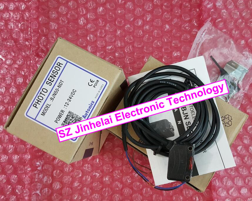 100% New and original  BJN50-NDT, BJN50-NDT-P  Autonics  PHOTO SENSOR  Photoelectric switch 12-24VDC