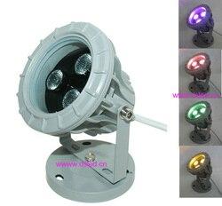 Dobrej jakości  o dużej mocy na zewnątrz 12 W RGBW LED reflektor  doprowadziły światła na zewnątrz  EDISON układ  3X4 W RGBW 4in1  12 V DC  DS-06-50-12W-RGBW