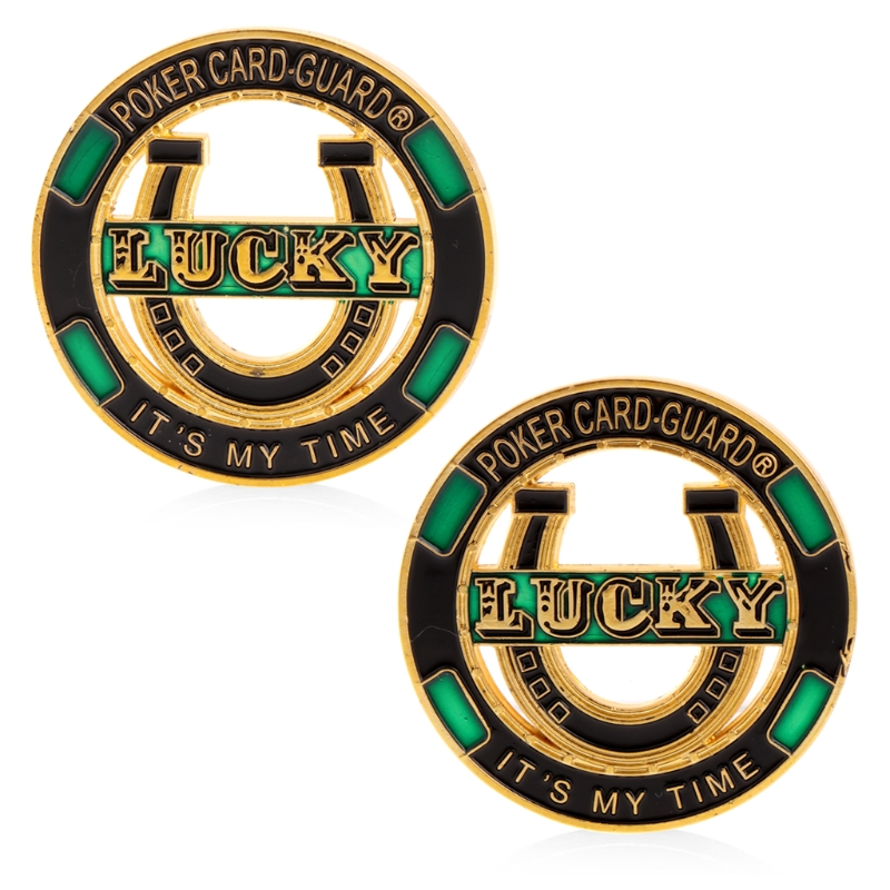Lucky Poker Card Guard It's My Time Non-currency Coins Commemorative Coin Collection Art Craft Gift