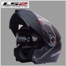 LS2 FF370 Motorcycle Helmets latest version have bag 100% Genuine Fashion Flip moto helmet the best quality