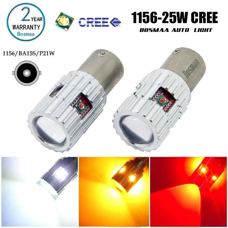 High Power 2pcs BA15S 1156 P21W 7506 1141 25W 3535 S25 Brake Lamp Light Tail Light driving lamp turn signals Led Auto