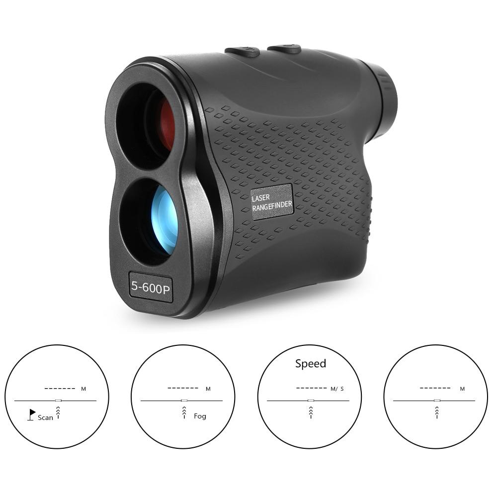600 900M Golf Laser Rangefinder Laser Distance Meter Speed Tester Laser Range Finder Digital Hunting Measure