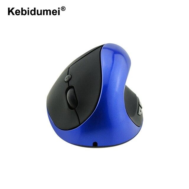 Kebidumei 2018 New Rechargeable Ergonomic Mouse Optical Wireless