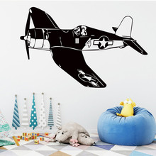 New arrival DIY Vinyl  airplane wall stickers Kids Wall decals Bedroom Living room Decor Home Decoration Murals